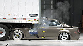 Stronger underride guard requirements could prevent deaths and injuries in rear-impact crashes.